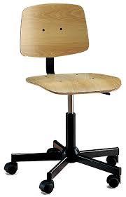 chaise de bureau en bois chaise bois bureau pied pour fauteuil bureau eyebuy