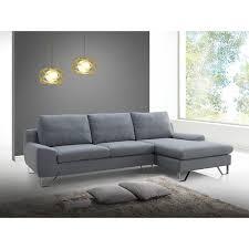 maison du monde canapé d angle canapé trendy gris angle gauche