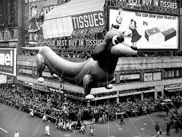vintage photographs of the macy s thanksgiving day parade balloons