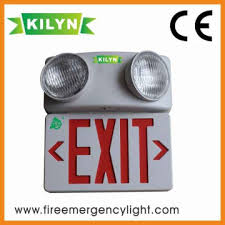 exit emergency light combo kln yj180tg zh china 2016 popular high quality exit sign emergency