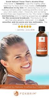 What Is Considered Light Skinned Amazon Com Orange Blossom Water Face Toner 100 Natural Daily