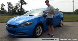 review 2015 dodge dart sxt youtube