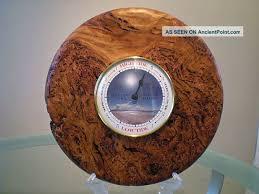 wood turned wall turned clock australian blackbutt burl wood turned wall tide