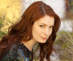 what is felicia day s hair color felicia day issues a geek call to arms wired