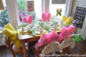 Easter Table Setting Easter Spring Table Setting For Children