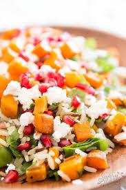 harvest rice salad thanksgiving side dish recipe