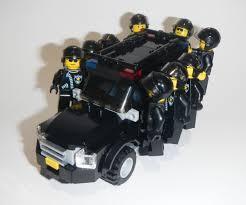 lego police jeep véhicules nissan patrol riot police