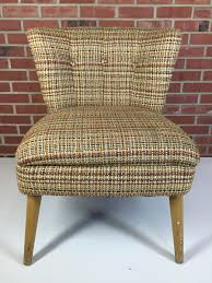 Mid Century Modern Patio Furniture Vintage Kroehler Mid Century Modern 1950 U0027s Slipper Tufted Chair