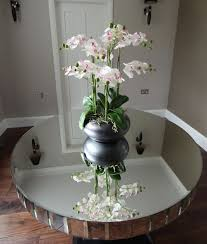 Round Foyer Table by Round Mirrored Coffee Table