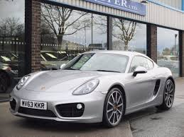 porsche cayman silver second hand porsche cayman 3 4 s pdk spec for sale in bradford