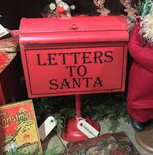 letters to santa mailbox letters to santa mailbox on pedestal vintage christmas