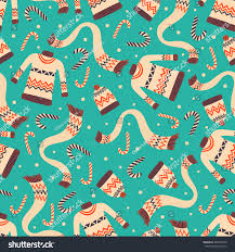 vintage christmas wrapping paper vector vintage christmas wrapping paper winter stock vector