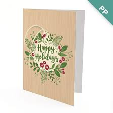 Business Holiday Card Happy Holidays Ornament Business Holiday Cards Christmas Cards