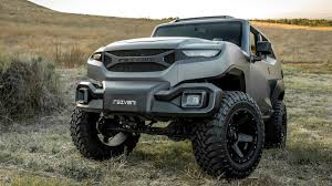 4 door jeep wrangler jacked up the rezvani tank would get you through the zombie apocalypse just