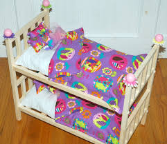 18 Inch Doll Bunk Bed Doll Bunk Bed Purple Peace Julie Bunk Bed Fits American