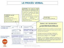 calcul repartition sieges elections professionnelles remplir le proces verbal formulaire cerfa ppt télécharger