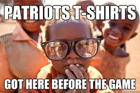 Meme African Kid - patriots t shirts got here before the game hipster african kid