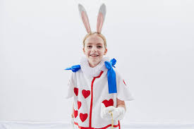 rabbit costume white rabbit costume in card