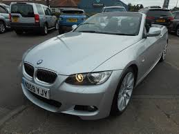 used bmw 3 series m sport highline convertible cars for sale