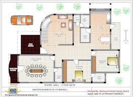 interesting 3 bedroom house designs in india 6 plans 2017