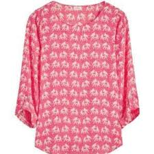 elephant blouse anthropologie 41 hawthorn pink elephant blouse from sharise s