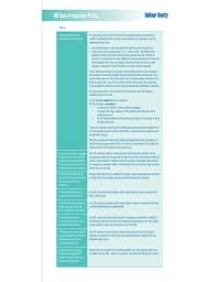 uk data protection policy free download