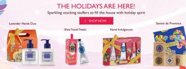 black friday stocking stuffers l u0027occitane canada black friday 2014 offers get a provincial gift