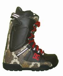 dc park boot lace snowboard boots mens size 5 equals womens 6 5