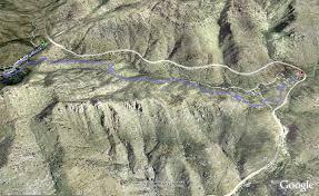 mt lemmon hiking trails map prison c mt lemmon aka gordon hirabayashi