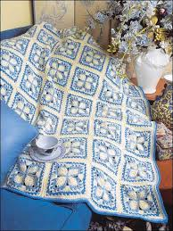 Crochet Home Decor Patterns Free Blue Ice Afghan Free Crochet Afghan Pattern