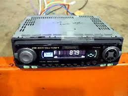how to program pioneer car stereo aux input youtube