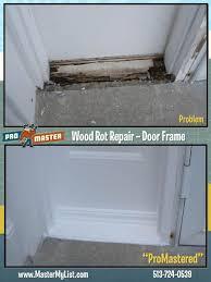 Repair Interior Door Frame Door Frame Repair Promaster Cincinnati 513 724 0539
