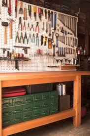 Wood Shelving Plans Garage by Best 25 Garage Workbench Ideas On Pinterest Workbench Ideas