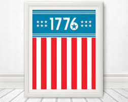 American Flag Home Decor 4th Of July Art Etsy