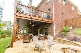 bond deck and patio
