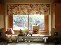 Kitchen Curtain Ideas Small Windows Great Deal In Curtain Ideas For Kitchen Windows Bow Window