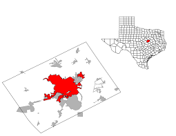 Amarillo Zip Code Map by Waco Texas Wikipedia