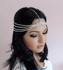 goddess headband goddess jewelry bohemian rhinestone headchain headband