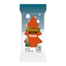 amazon com reese u0027s holiday peanut butter trees 6 count 1 2