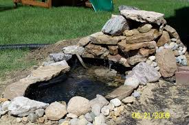 Pictures Of Backyard Ponds by Create Waterfall Feature In Your Backyard 10 Steps