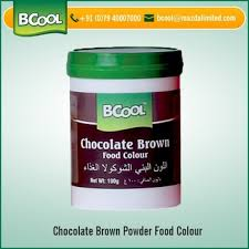 2017 new arrival chocolate brown food color powder from trusted