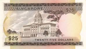 banknote index singapore 25 dollar p4