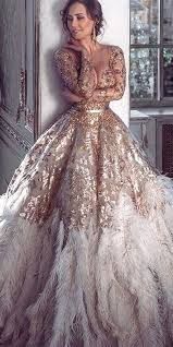 gold wedding dresses best 25 gold wedding gowns ideas on gold wedding gown