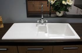 Ceramics Gourmet  Bowl Fireclay Inset Ceramic Kitchen Sink - Gourmet kitchen sinks
