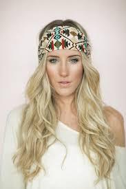 hair headbands tuban headband southwestern tribal wrap stretchy hair