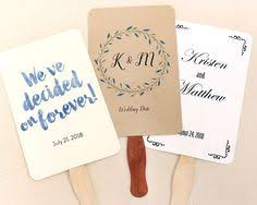 wedding program fan kits wedding program fan kit warm color choices at craftysticks diy