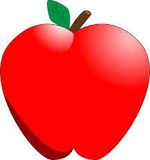 apple cartoon cartoon apple clip art free vector 4vector