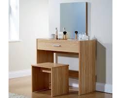Oak Bedroom Vanity Julia Modern Bedroom Vanity Dressing Table Oak