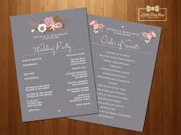Create A Wedding Program Wonderfull Wedding Ceremony Order Of Events Wi 14622 Johnprice Co