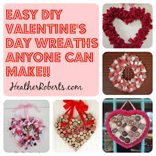 valentines wreaths 5 simple diy s day wreaths